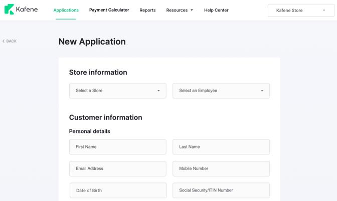 Customer Application 2.0-1