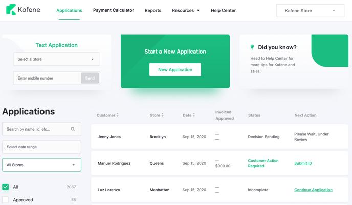 Merchant Dashboard Overview